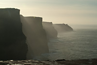 Photos of the Cliffs of Moher in County Clare, on the west coast of Ireland