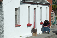 View photographs from Doolin in County Clare.